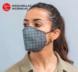Mascarillas higiénicas reutilizables homologadas une 0065:2020 para adultos y niños personalizables impresión completa